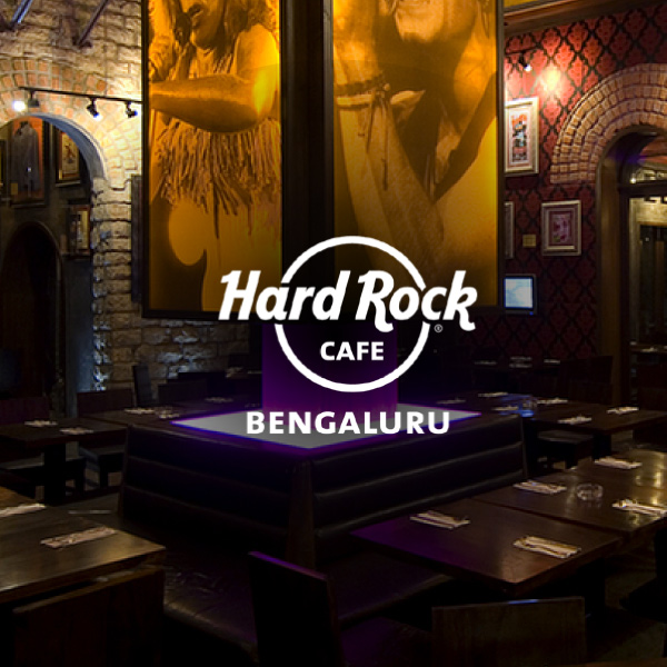 Hard rock cafe in Bangalore