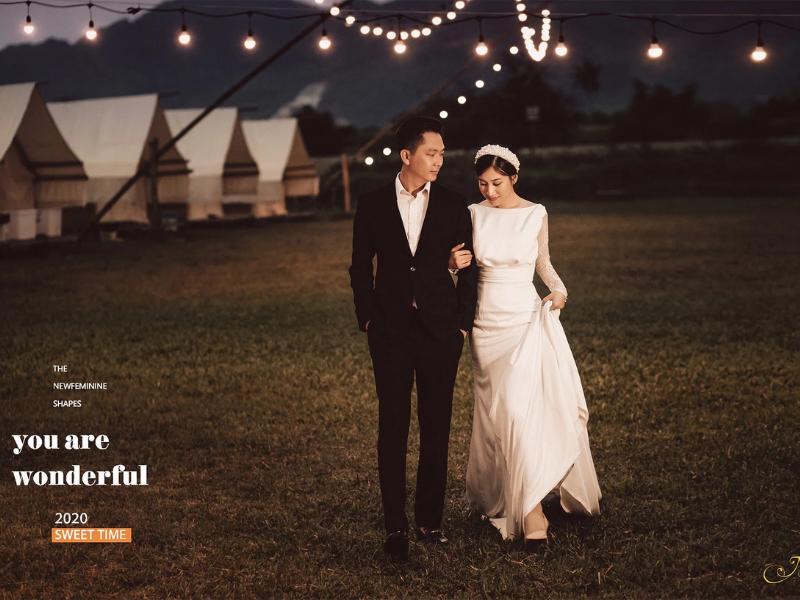 Chụp ảnh cưới tại Yên Retreat cùng những chiếc lều xinh xắn