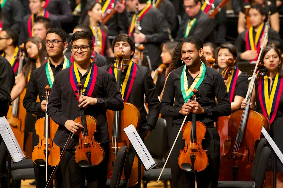 Brasil y Venezuela se unieron en una sola orquesta