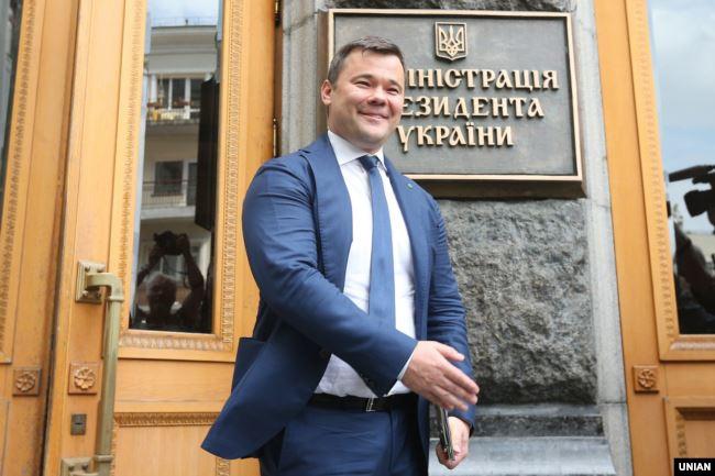 Колишній голова ОП Андрій Богдан: «Я не знаю інтересів Коломойського, я знаю інтереси держави»