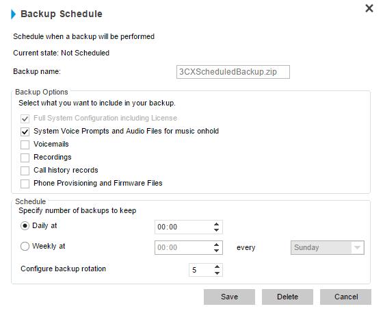 Configuring Failover with 3CX Version 14