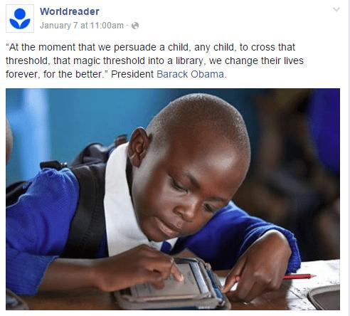 Worldreader post