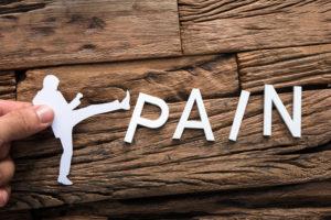 reducing pain image