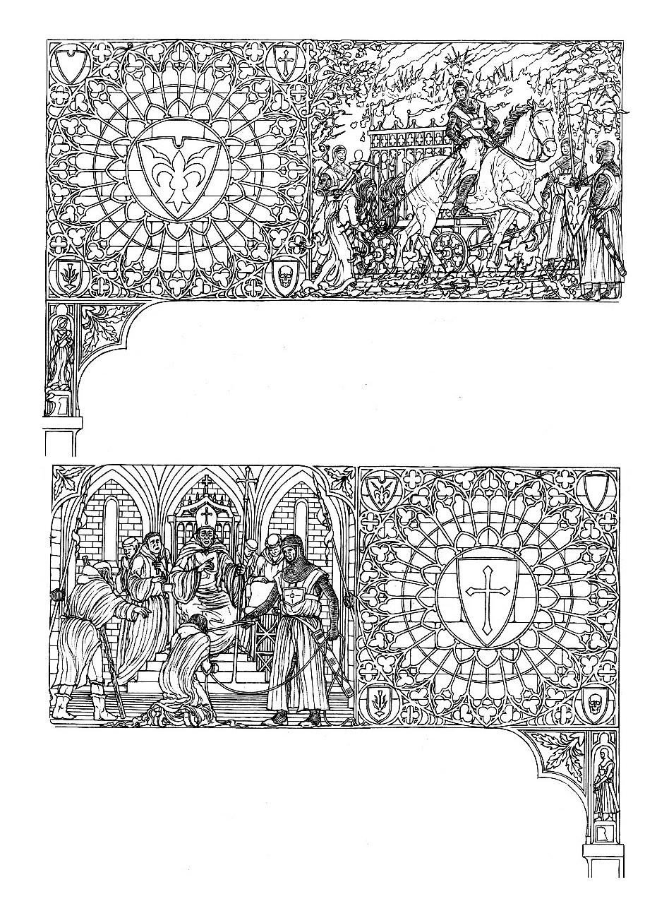 ROMÁN-GÓTIKUS SAROKDÍSZEK MINIATÚRÁKKAL II (WITCHES IV; WITCHES V).jpg