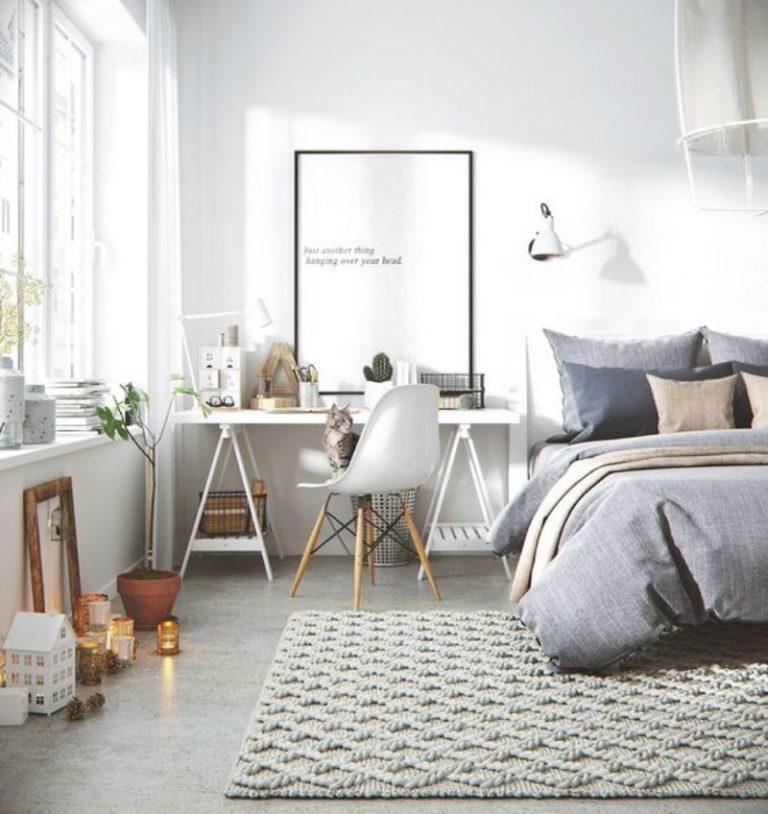 Inspirasi kamar tidur Scandinavian - source: essentialhome.au