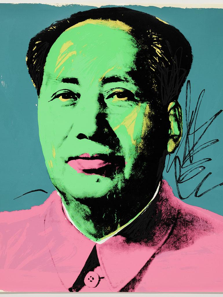Andy Warhol's Mao portraits - The story behind