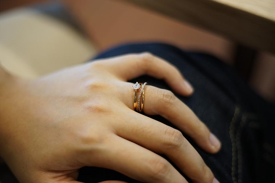 Hand, Ring, Wedding Ring, Gold, Jewelry, Married