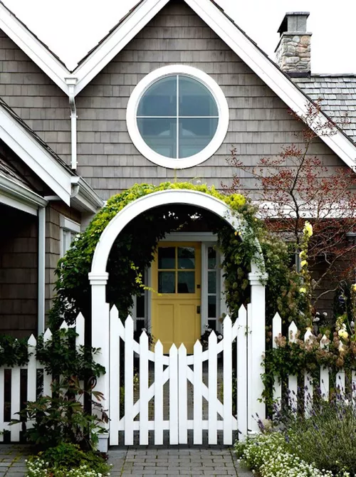 Arbor Garden fence Structure