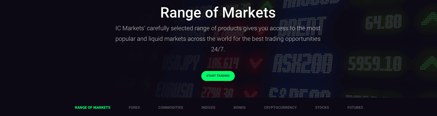 ic markets trading