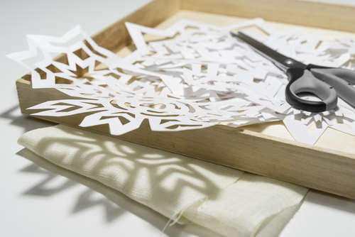 Let It Snow — And If It Doesn't Make  Paper Snowflakes-image