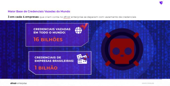Psafe encontrou mais de 1 bilhão de senhas vazadas de empresas brasileiras
