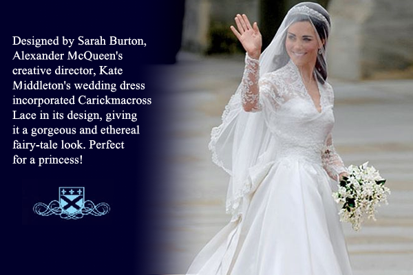 Fitzpatrick's Veils of Ireland and Lace Gallery Kate Middleton