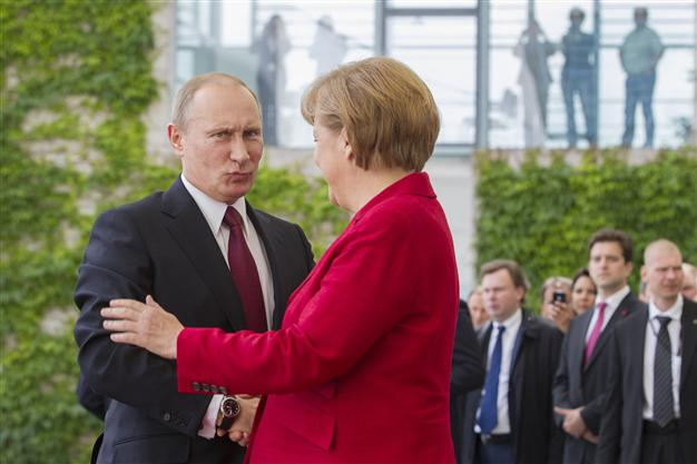 Billedresultat for is angela merkel a russian agent