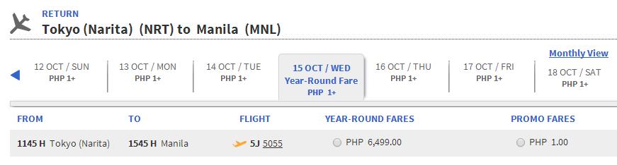 vé máy bay siêu rẻ 1 peso của cebu