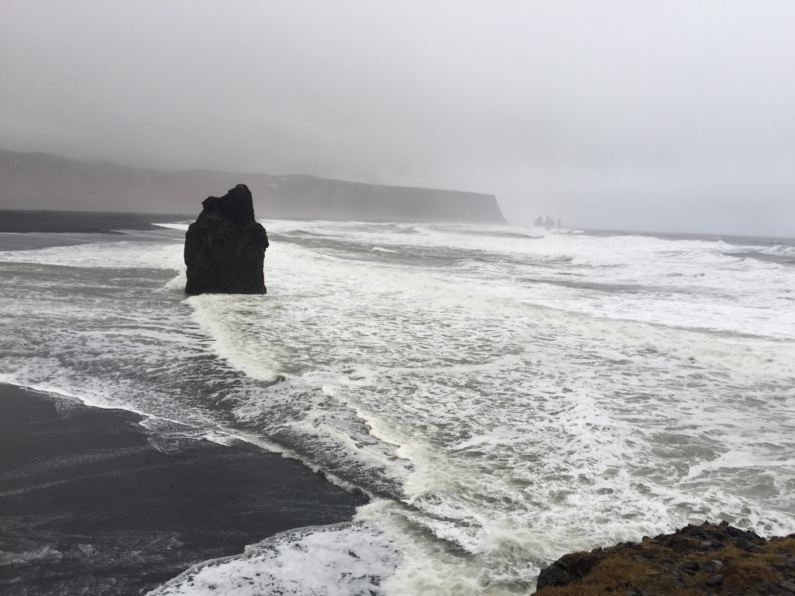 Iceland's Reynisfjara Black Sand Beach, a popular filming location for many productions, such as Game of Thrones and Star Wars. In 1991, National Geographic included it on its list of Top 10 non-tropical beaches to visit. It's not hard to see why. (Photo: Lilly Torosyan)