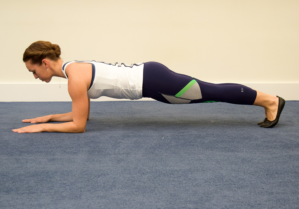 Plank exercise variations