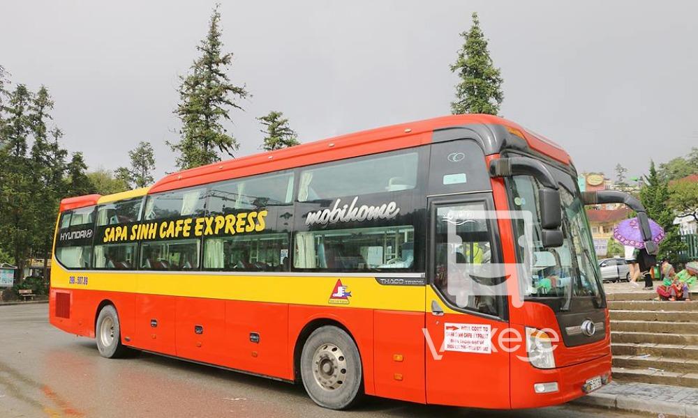 Xe Sapa Sinh Cafe Express từ Hà Nội đi Sapa