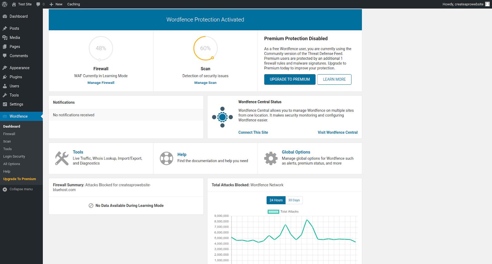 wordfence wordpress security plugin features