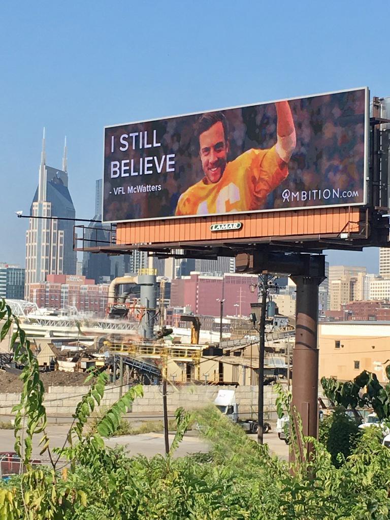 Ambition billboard winner