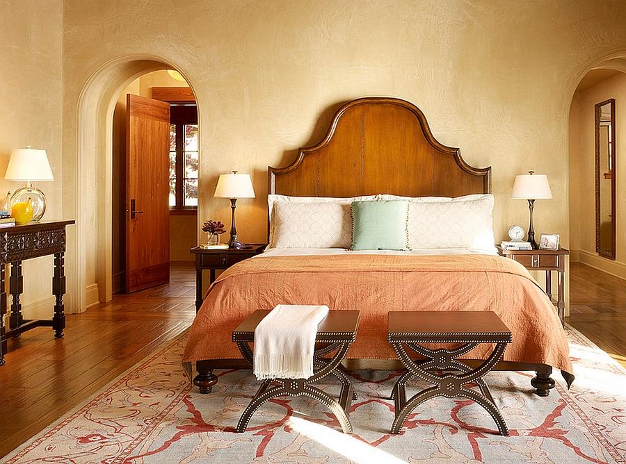 Earthy Mediterranean Bedroom Ideas