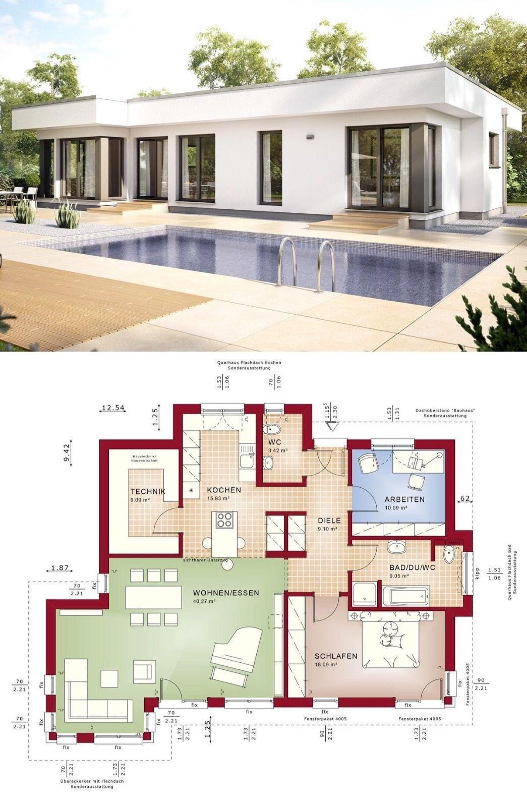 Desain Dan Denah Rumah Mewah Elegan Dan Minimalis Desain rumah elegan dan mewah