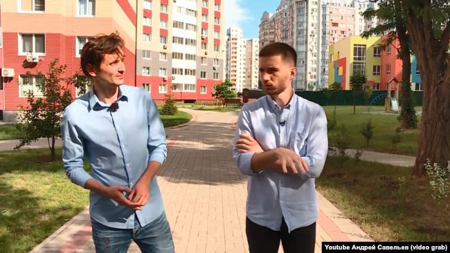 Анатолій Євтушенко, переселенець з Донецька (ліворуч)
