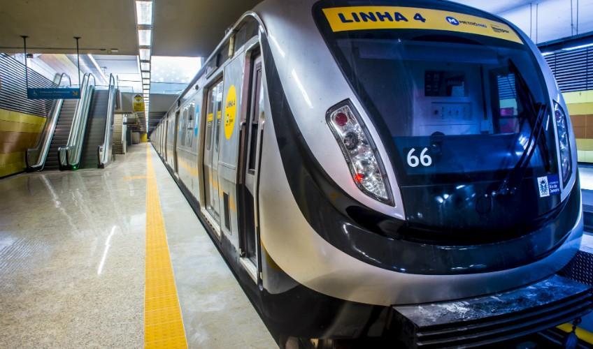 Legado da Olimpíada, linha 4 do Metrô do Rio sofre com falta de passageiros