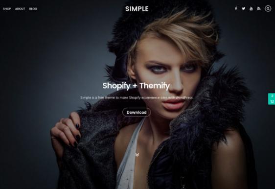 Simple Free WordPress Theme