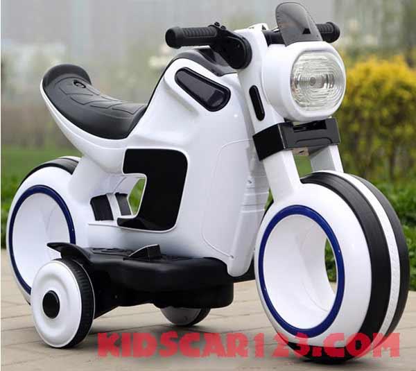 Xe máy điện cho bé - 998 trắng