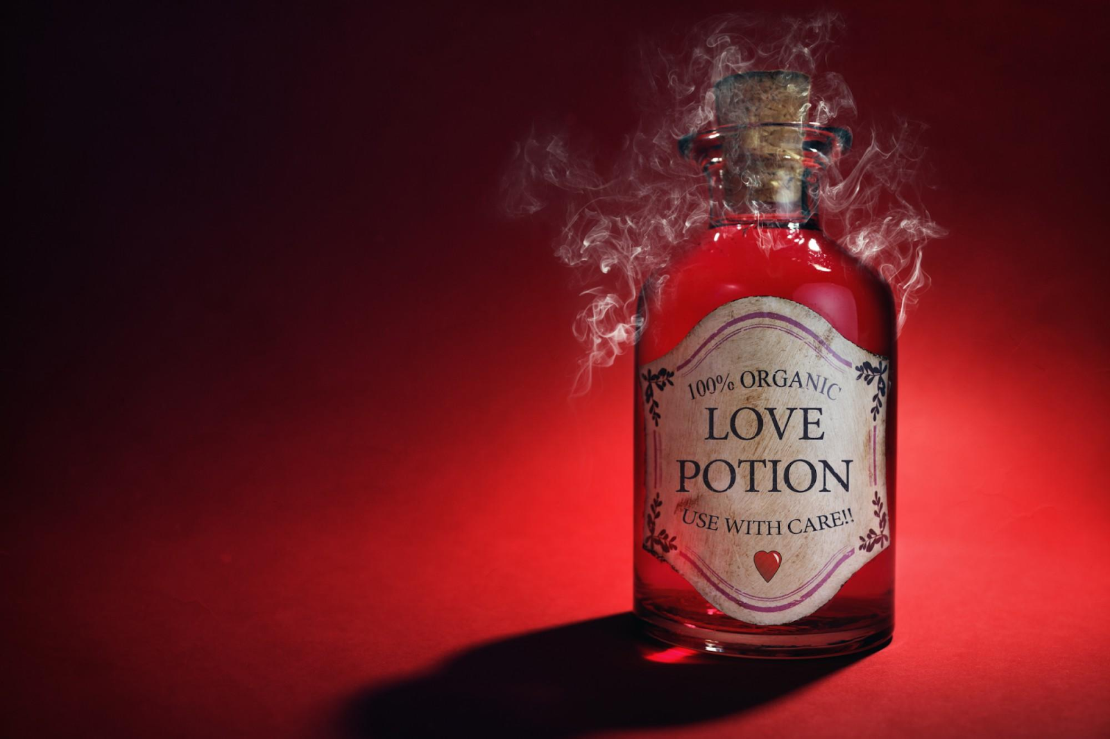 How to create a love potion to make him