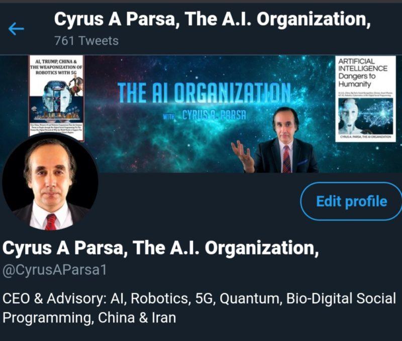 Người sáng lập The A.I. Organization: 'Huawei dùng trí tuệ nhân tạo để nô lệ hóa con người'? 1