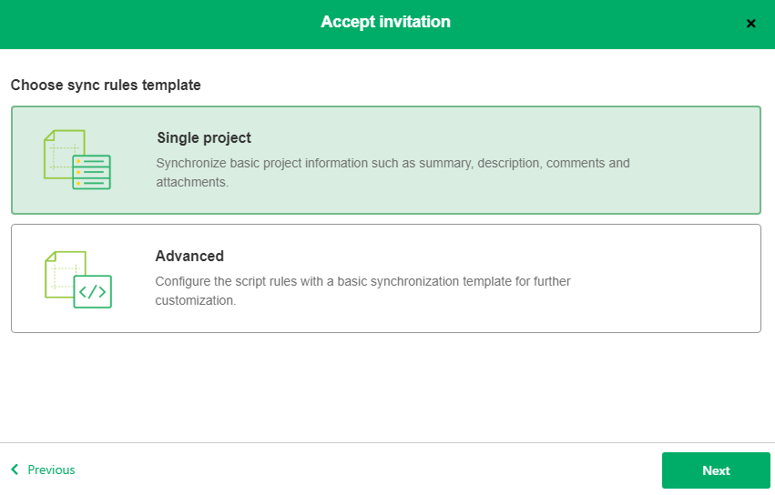 azure devops servicenow sync rules template