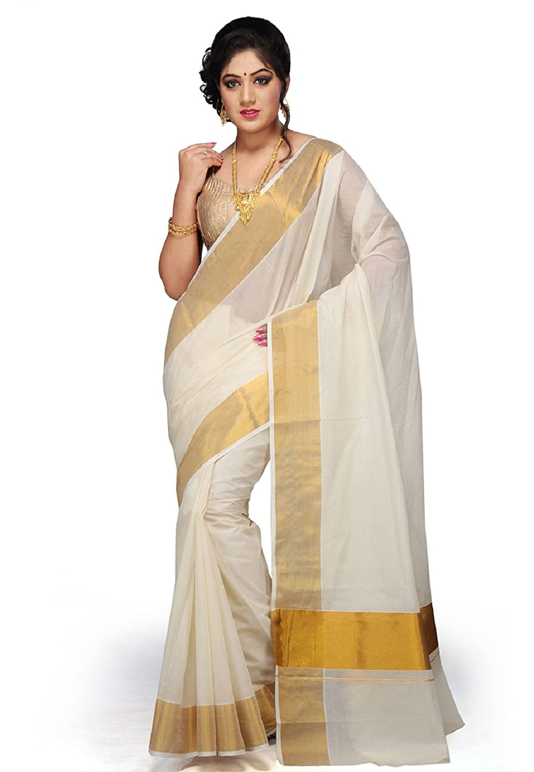 Kasavu Cotton Saree