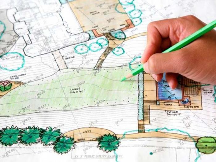 как правильно разместить постройки на земельном участке