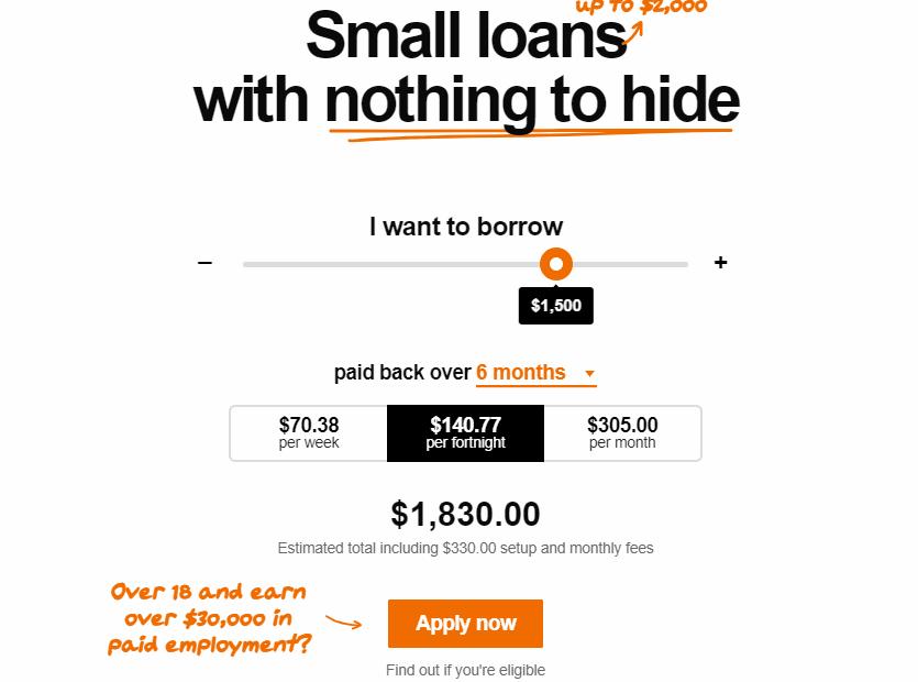 speckle loans online application form
