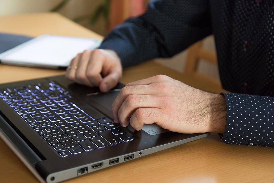 Equipo, Manos, Trabajo, Teclado, Negocio, Laptop
