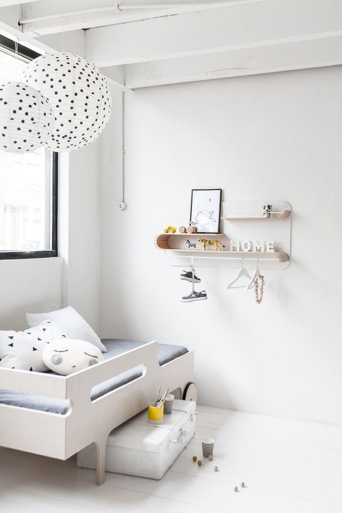 Inspirasi kamar tidur anak bergaya minimalis - source: pinterest.com