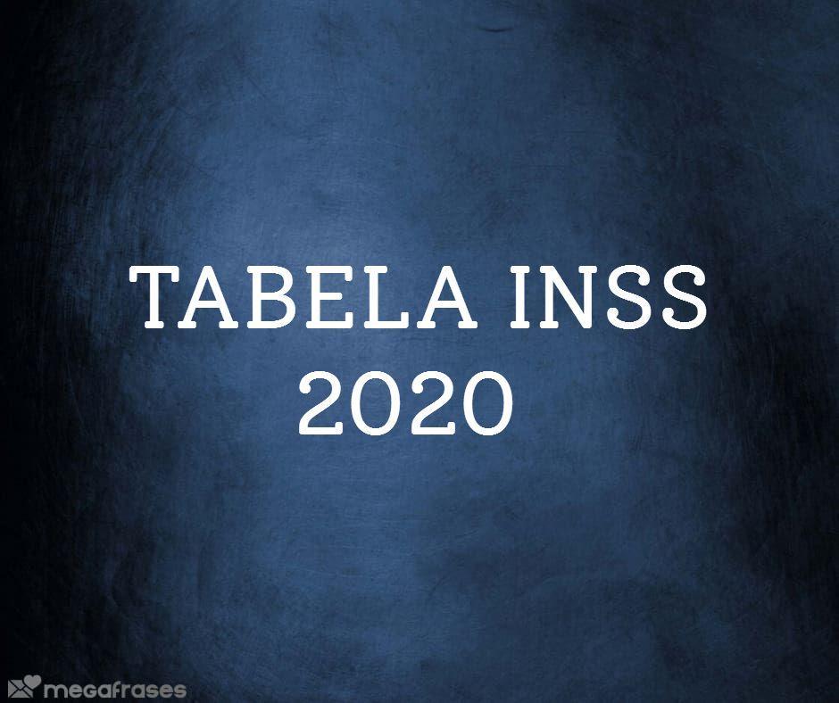 Tabela INSS 2020 saiba como calcular a alíquota progressiva.jpg