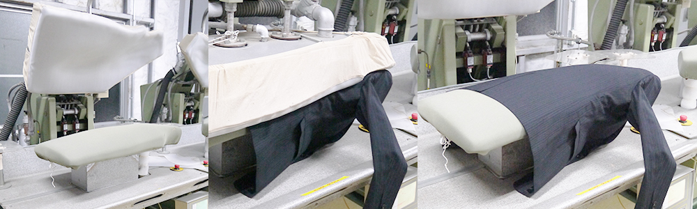 プラスキューブ│スーツ水洗いの流れ