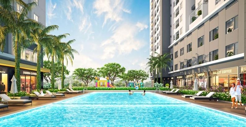 Dự án Moonlight Park View có tiện ích nội khu đầy đủ và đẳng cấp