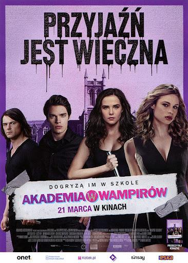 Przód ulotki filmu 'Akademia Wampirów'