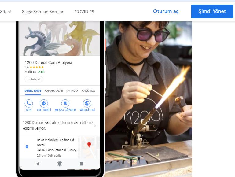 google benim işletmem nasıl kurulur