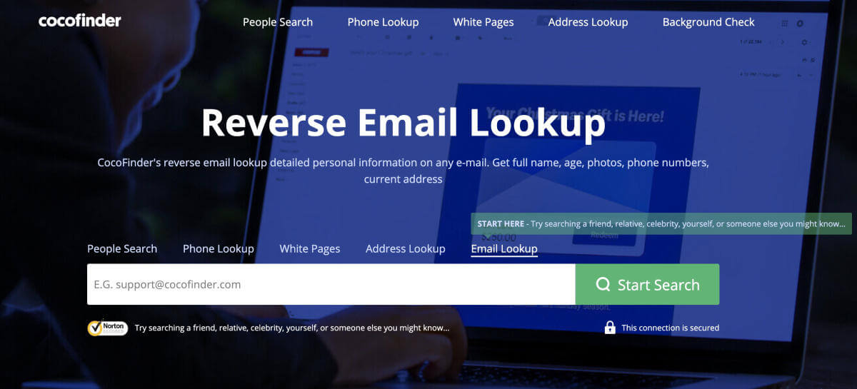 Lookup Email Addresses for Free