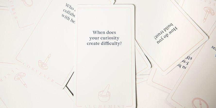 Questions from an Empathy Card decks.