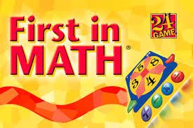 First in Math Logo