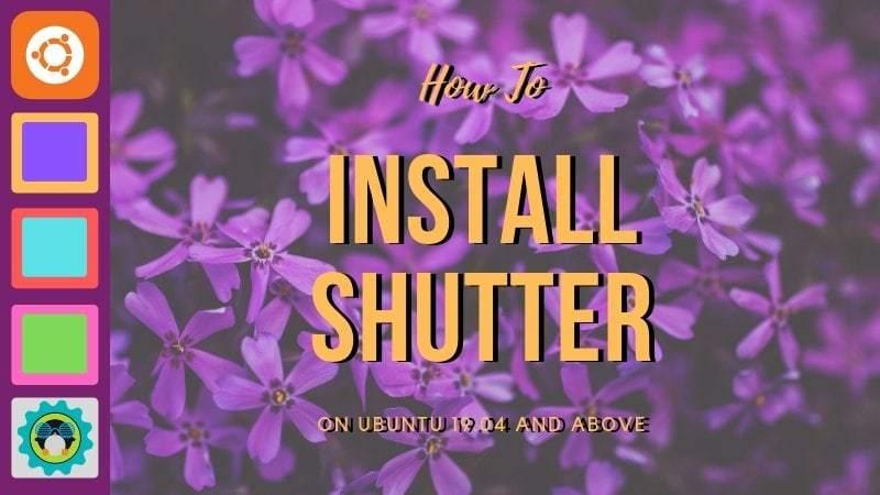 Install Shutter Ubuntu