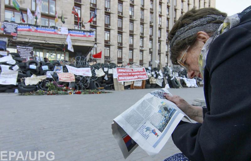 Боевики выжили из города настоящих журналистов