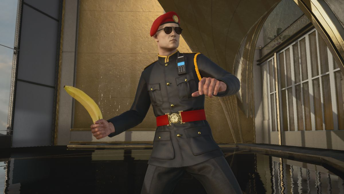 Hitman 3: Laugh at Agent 47's unbelievable series of weapon