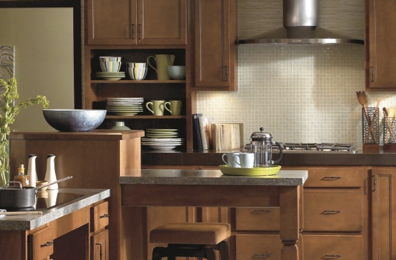 Wolf Signature Cabinetry for kitchen redesign, Johnson Lumber, Maryland Kitchen Design
