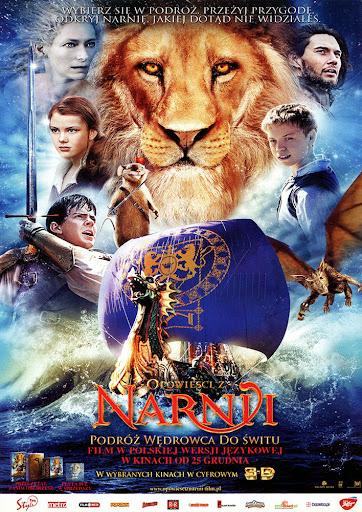 Przód ulotki filmu 'Opowieści Z Narnii: Podróż Wędrowca Do Świtu'